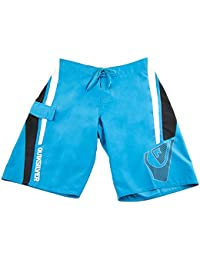 Quiksilver Merged Mens Fashion Boardshorts Turquoise Black White 34 Turquoise Black White