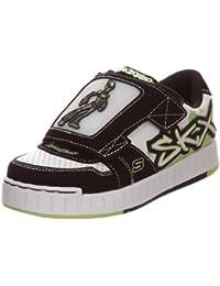 Skechers - Zapatillas de deporte de cuero para niños