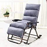 Brisk- Schaukelstuhl Recliners Balkon Stuhl Falten Mittagspause Wicker Stuhl Casual Swing Stuhl Für Ältere Menschen (Farbe : 1004)