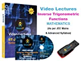 #5: IIT JEE Video Lectures : Inverse Trigonometric Functions : In DVD