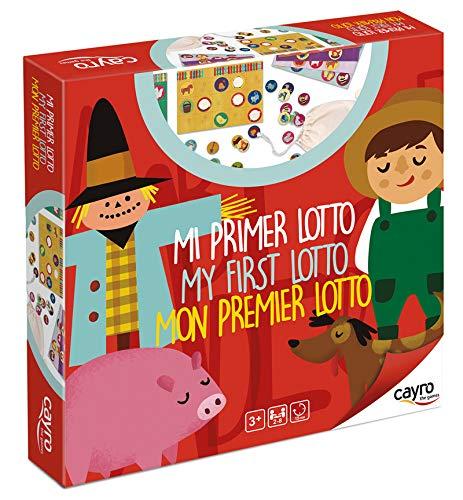 Cayro-Mi Primer Lotto (lotería) +3 años, Multicolor (166)