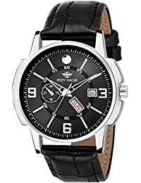 Eddy Hager Black Day and Date Men's Watch EH-114-BK