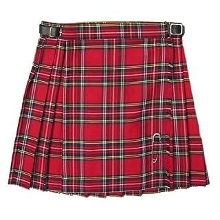 Tartanista - Jupe plissée/kilt - tartan Royal Stewart - fille 14 ans