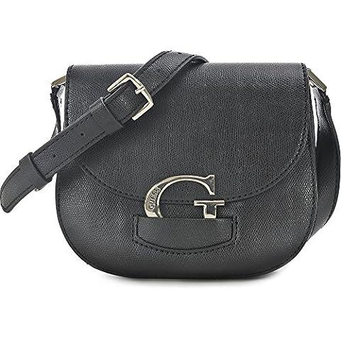 Guess Mujer Lexxi Crossbody Saddle Bag Bolso de hombro