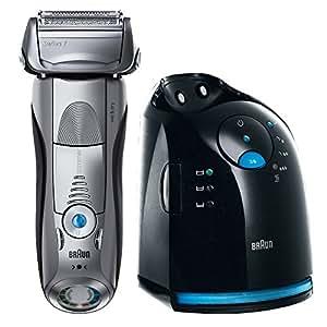 Braun Series 7 Elektrischer Rasierer 799cc-7, mit Reinigungsstation Clean&Charge
