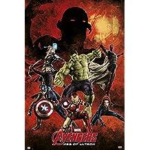 Grupo Erik Editores   Poster Marvel Avengers Age Of Ultron