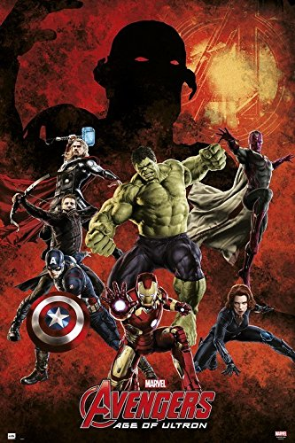 Grupo Erik Editores gpe4877 - Marvel Avengers Age of Ultron Poster, 61 x 91,5 cm