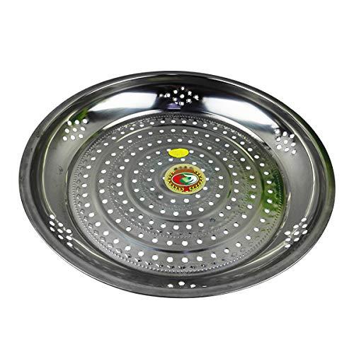 BESTONZON Cesta vaporera de acero inoxidable accesorios para ollas y para olla a presión sartenes 34cm