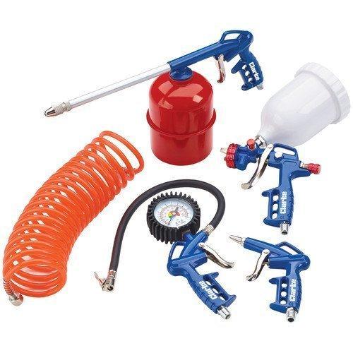 clarke-kit1100-kit-doutils-pneumatiques-5-pieces-avec-pistolet-alimente-par-gravite