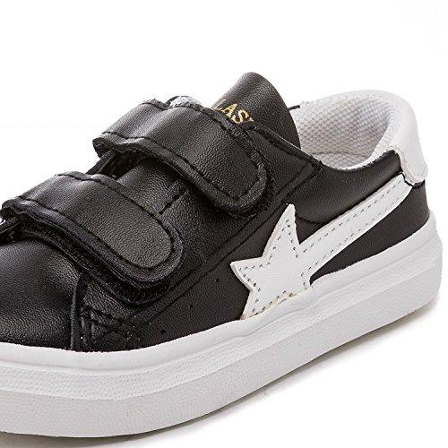 Alexis Leroy Sneakers a collo basso Scarpe Sportive Tennis bambini e ragazzi Nero