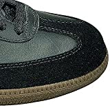 adidas Unisex-Erwachsene Fußballschuh Samba Low-Top Sneakers, Schwarz (Black/Running White Footwear), 46 EU