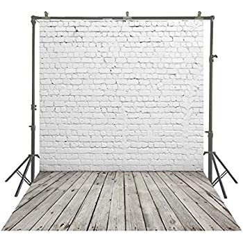 YongFoto 2.5x3m Vinyl Rustic Wood Backdrops for Photography Old Wooden Plank Textured Wood Board Photo Background Party Wallpaper Personal Portrait Pictures Taking Photo Video Studio Props 8x10ft