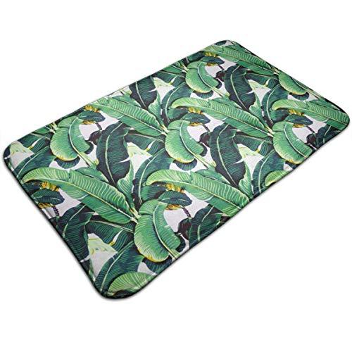 huibe Rutschfeste Badematte Martinique Banana Leaf Home Decor Standmatte für Innen- und Außenbereich, schnell trocknend/Anti-Ermüdungserscheinung, Fußmatte für Hotel, Badezimmer, 40 x 60 cm (Küsten-badematte)