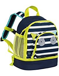 Preisvergleich für Lässig Mini Backpack Kindergartenrucksack Kindergartentasche, Little Monsters Bouncing Bob, Türkis Kinder-Rucksack...