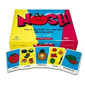 Nosh Healthy Eating Game by Playbreak (English Manual)