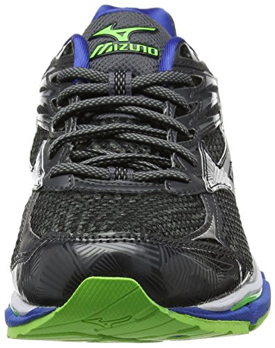 Mizuno Wave Legend 4 - Chaussures de Running Compétition homme Gris (Dark Shadow/silver/nautical Blue)