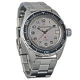 Marke Neu. Wostok komandirskie 200WR Herren Armbanduhr Mechanische automatische Armbanduhr Automatik # 020708