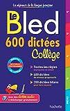 600 dictées collège