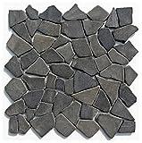 M-001 Marmor Stein-Mosaik Bruchstein Fliesen Lager Verkauf Herne NRW Naturstein Badezimmer Wand Boden Dekoration