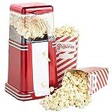Popcorn Maker Machine Popper HOT AIR Electric Cinema Fun 1200W Fat Free Retro