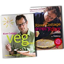 River Cottage Every Day Collection Hugh Fearnley Whittingstall 2 CookBooks Se...