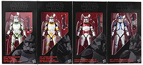 Star Wars The Black Series Limited Edition Clone Troopers of
