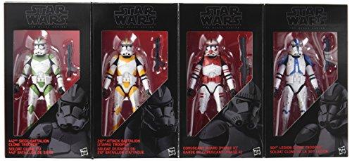 STAR WARS, The Black Series, Set di Action Figure dei Clone Troopers dell'Ordine 66, 15,2cm (Versione Inglese)