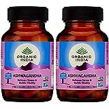 Organic India Ashwagandha Capsules - 60 Capsules (Pack Of 2)