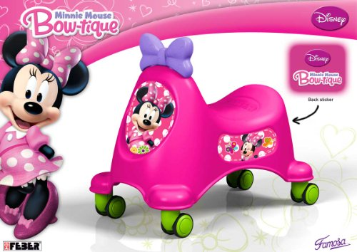 Feber - Correpasillos diseño Minnie (Famosa 800008446)