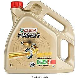 CASTROL - 4T00014/162 : Aceite lubricante motor Power1 4T 10w40 4L