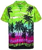 Funky Camicia Hawaiana, Beach, verde, L