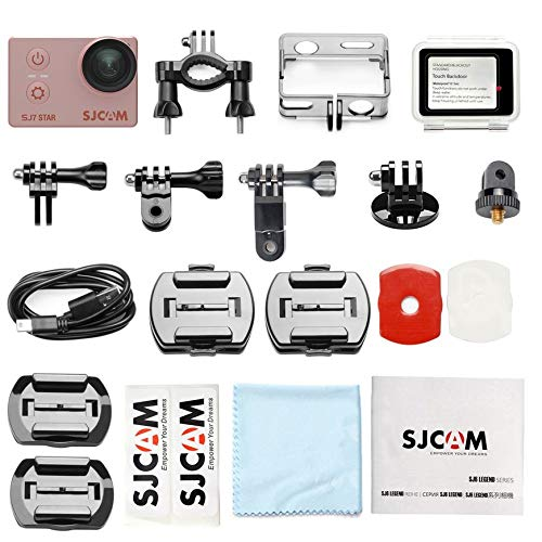 Mountxin SJCAM SJ7 Sterne Bewegungskamera Wasserdichte Anti-Shake-Kamera HD 4K Sportkamera - Rose Gold