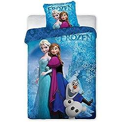 Frozen El Reino del Hielo Funda Nórdica Anna, Elsa & Olaf 140 x 200 cm