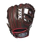 Louisville Slugger Herren 2018TPX-Infield Baseball glove-right Hand werfen, dunkelbraun/weiß/rot, 29,2cm