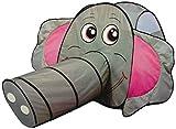 XXL-Spielzelt Elefant mit Riesentunnel
