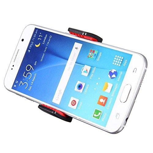 Demarkt Universal KFZ Auto Handyhalterung Halter Hand-free Car Air Vent Mount Mini Holder 360 Grad drehbar Autohalterung für Mobile Phone GPS -