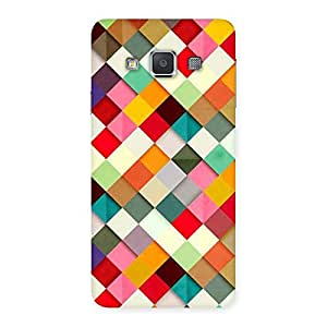 Enticing ColorFull Ribbons Print Back Case Cover for Galaxy A3