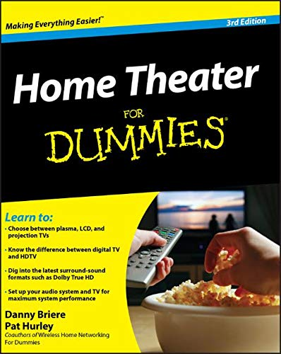 Home Theater For Dummies (For Dummies Series) Digital Plasma Tv