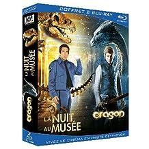 La nuit au musée + Eragon - Coffret 2 Blu-Ray
