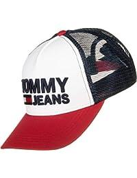 Tommy Hilfiger Gorra Trucker TJM Blanco-Rojo