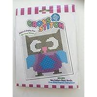 Beginners Child Cross Stitch Embroidery Kit - OWL