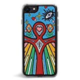 Zero Gravity Apple iPhone 7/8 Element Phone Case - Embroidered Design - 360° Protection, Drop Test Approved