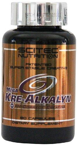Scitec Nutrition Creatine Mega Kre-Alkalyn, 80 Kapseln, 1er Pack (1 x 96g)
