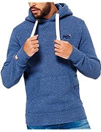 Superdry - Sweat-shirt à capuche - Homme bleu bleu marine