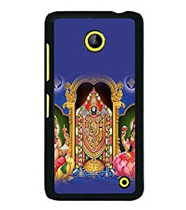 printtech Lord God Hindu Back Case Cover for Nokia Lumia 630 3G