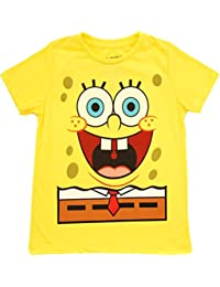 Spongebob Squarepants Jumbo Glow-in-the-Dark gelb Kind T-Shirt