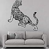 TYLPK Tier Tiger Wandaufkleber Vinyl Moderne Mode Dekoration Schlafzimmer Wohnzimmer Wandkunst...