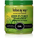 Texture My Way Keep It Curly Ultra Defining Curl Pudding, 15 Ounce by Texture My Way