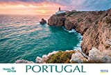 Portugal 2019: Großer Foto-Wandkalender. Mit extra Jahres-Wandplaner. Panorama Querformat: 58x39 cm -