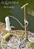 Autarki Mobiles Wasseraufbereitungsgerät in Handbetrieb, Unabhängiges Outdoor & Survival-Set mit Handpumpe, stabil, keimfrei, wartungsfreundlich für reines Trinkwasser-Wasserfilter